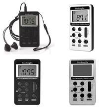 FM мини портативный с цифровым дисплеем и радио USB памяти, автоматический, ручной 64-108MHz 500mA 3,7 V стерео зарядки 6,5 MW