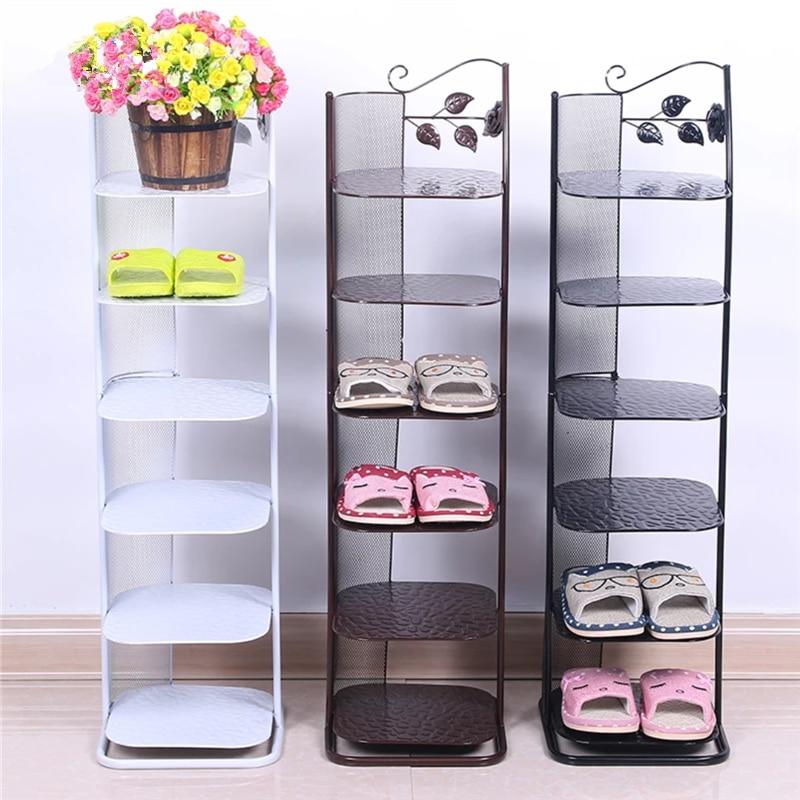 Nordic Bathroom Shoe Simplicity Shoe Organizer Perchero Shoe Holder Guarda Zapatos Schoenenrek Metal Range Chaussure Cheap
