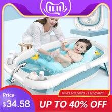 للطي حوض الاستحمام الأطفال الكذب درجة الحرارة الإلكترونية العالمي حمام برميل كبير الحجم لوازم الطفل حديثي الولادة حوص استحمام للأطفال
