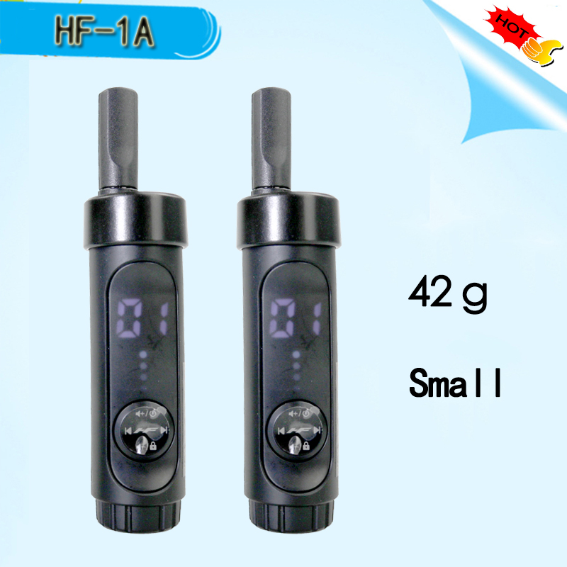 HONGFENG-1A Mini Walkie Talkie Phone Portable Ham Radio Scanner Amateur Radio Communicator Yaesu Sq Transceiver