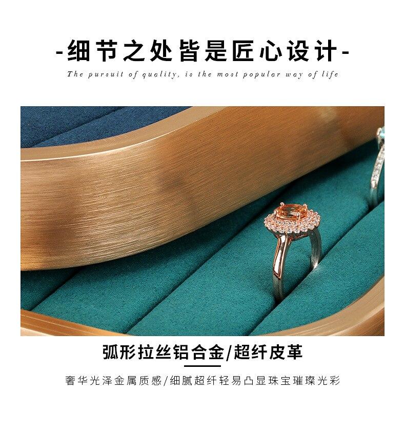 jóias adereços bandeja de jóias local