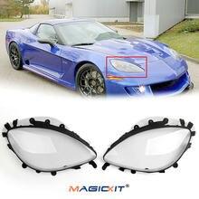 Magickit автомобильные передние фары объектив фар линзы противотуманных
