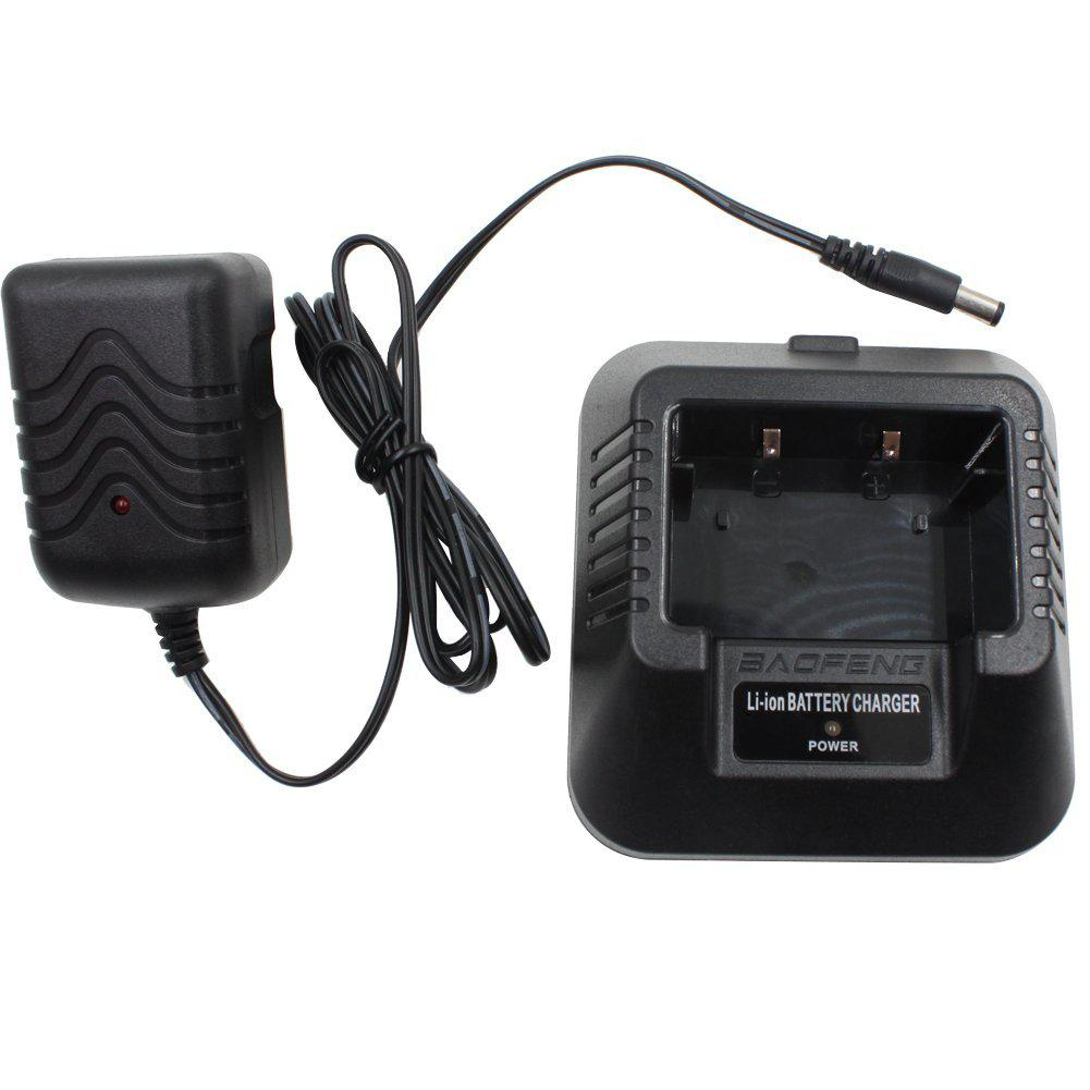 For BAOFENG UV-5R 5RA Li-ion Radio Battery Charger 100v-240v Walkie Talkie Desktop Charger US Plug Fit For BAOFENG UV- 5RB 5RC