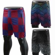 Популярные мужские wo мужские профессиональные камуфляжные футбольные шорты для тенниса, бега, спорта на открытом воздухе, тренировок, фитнеса, футбола, шорты с карманами на молнии