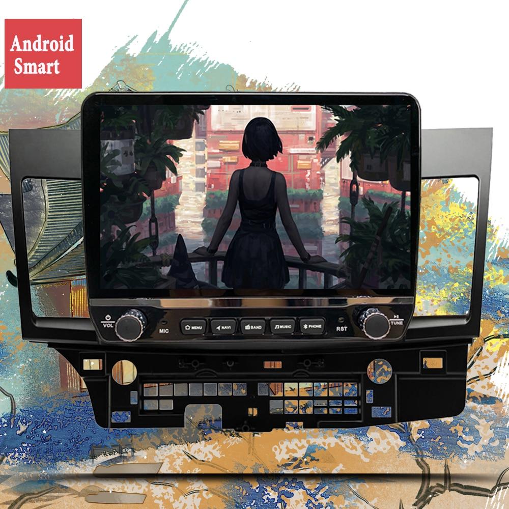 Radio Multimedia con Android para coche, Radio con Android 6G + 128G, vídeo, RDS, DSP, para Mitsubishi Lancer, 2007-2012, 10,1 pulgadas, 4G, red, reproductor Dvd coche 2 Din