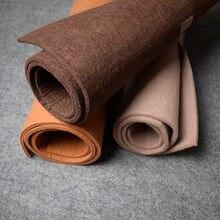 45x90 см 5 мм коричневая войлочная ткань толстая твердая Нетканая