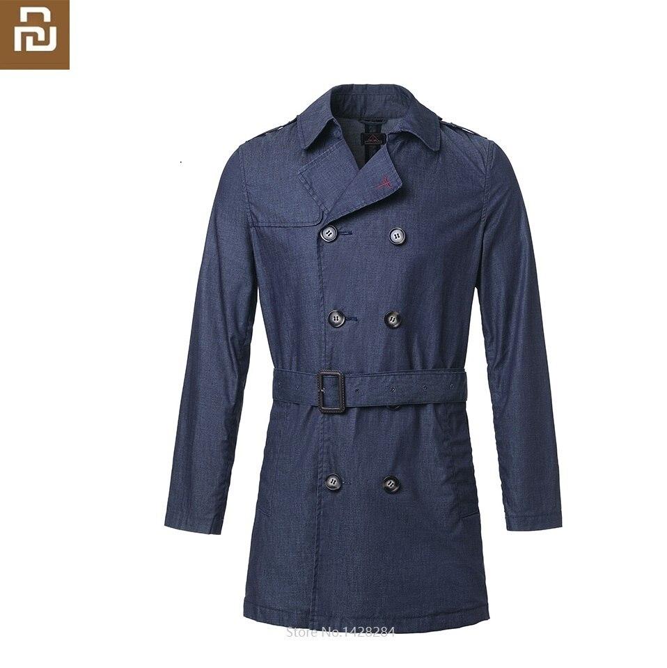 Youpin NEW DMN Man Classic Rainproof Cowboy Windbreaker Male Spring Autumn Loose Denim Jacket Coat Leisure Outerwear