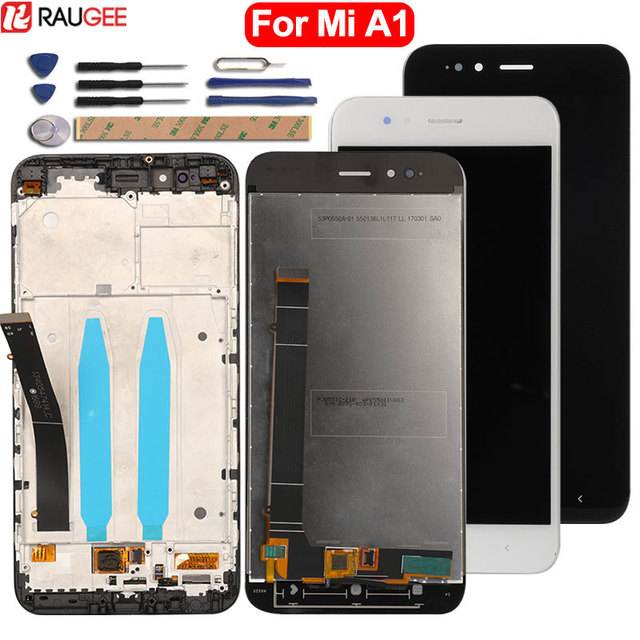 Per Xiaomi MiA1 Mi A1 Display LCD + Touch Screen di Alta Qualità di Nuovo Digitizer Pannello di Vetro Dello Schermo Per Xiaomi Mi a1 Mi5X Mi 5X lcd