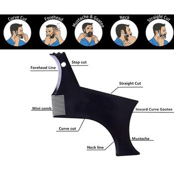BellyLady Beard Grooming Kit Trimming Shaving Comb Set Mustache Scissors Shaping Shaver 4