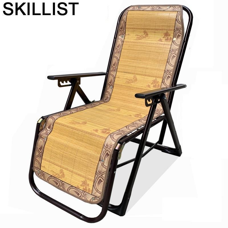 Poltrone Da Salotto Terraza Mueble Lazy Sillon Relax Bamboo Cama Plegable Sillones Moderno Para Sala Folding Bed Recliner Chair
