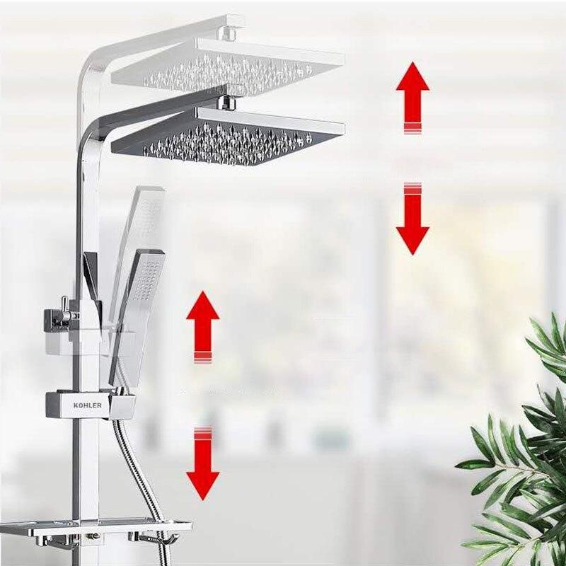 Hdc85746535a34d9bb43fa63de7c7c0daM Thermostatic Digital Display Shower Faucet Set Shower Mxer Crane Rain Shower Bath Faucet Bathtub Shower Mixer Taps Bidet Faucet
