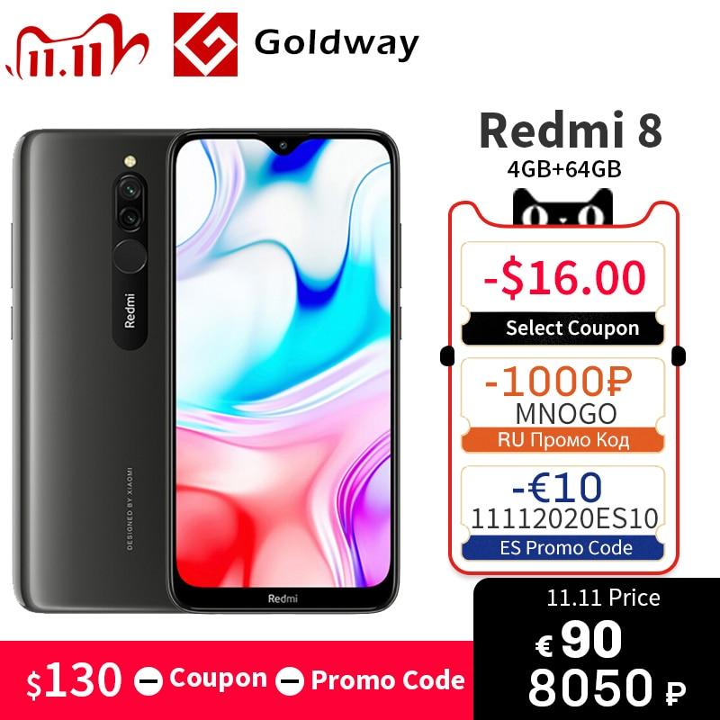 "In Stock Global ROM Xiaomi Redmi 8 4GB 64GB Smartphone Snapdragon 439 Octa Core 12MP Dual Camera 6.22"" 5000mAh China Version|Cellphones| - AliExpress"
