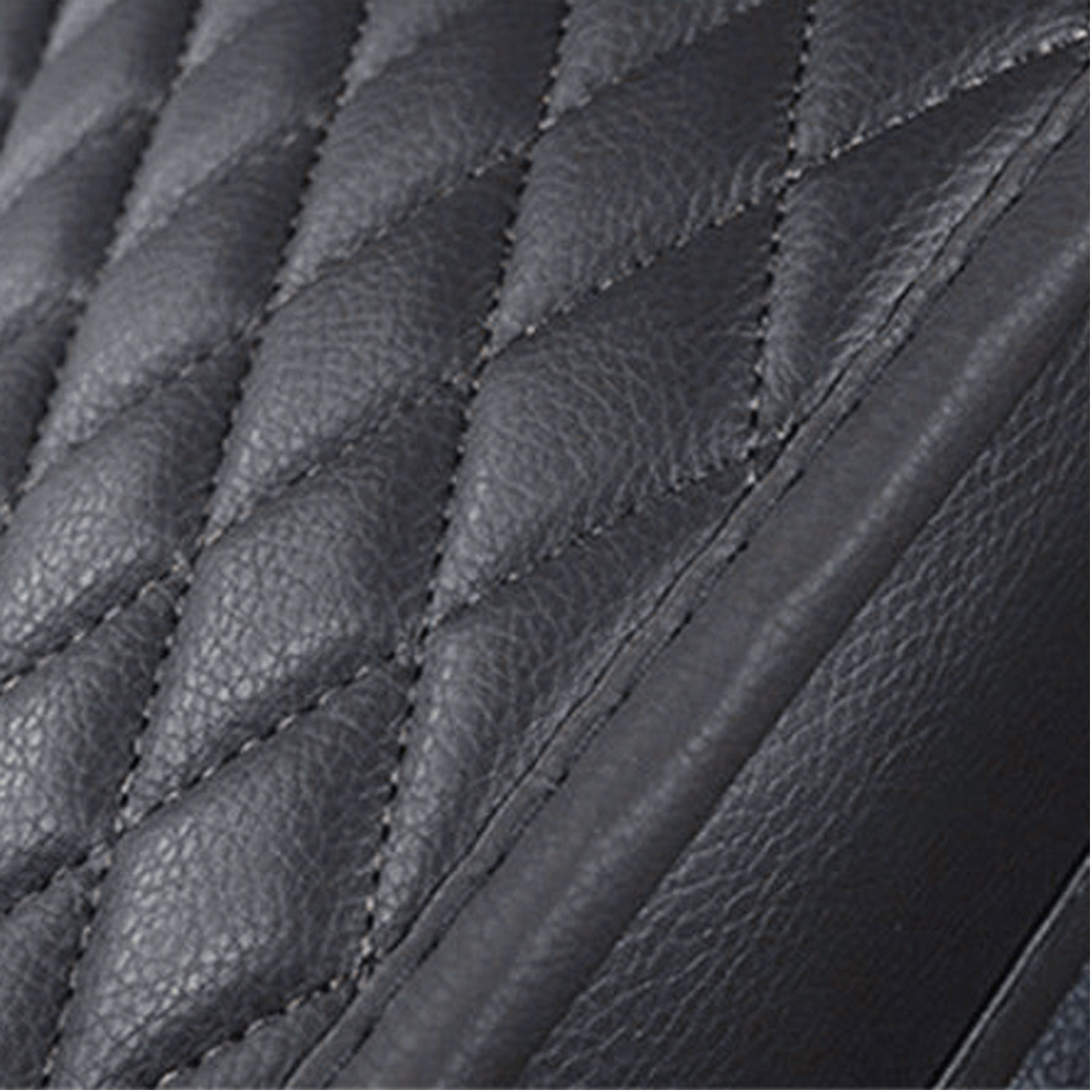 Universal Interior Backless Seat Cover Faux Leather Pad Anti-skid Buckle Parts
