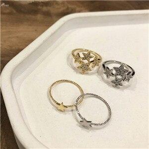 AOMU-Korea-Vintage-Shiny-Luxury-Pentagram-Men-Ring-Rhinestones-Star-Ring-For-Women-Fashion-Ring-Party