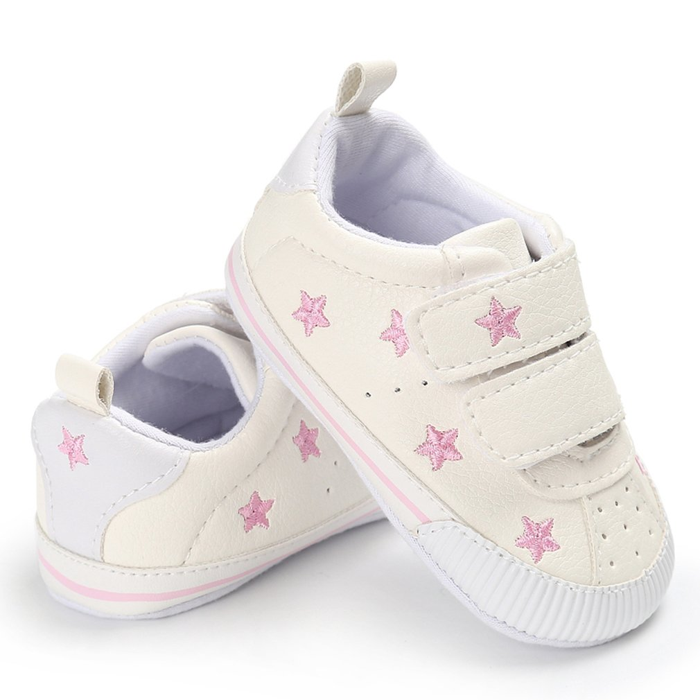 Baby Toddler Shoes Cute Soft Sole Shoes Sticker Fix Type Walking Train Shoes Chidren's Care Products