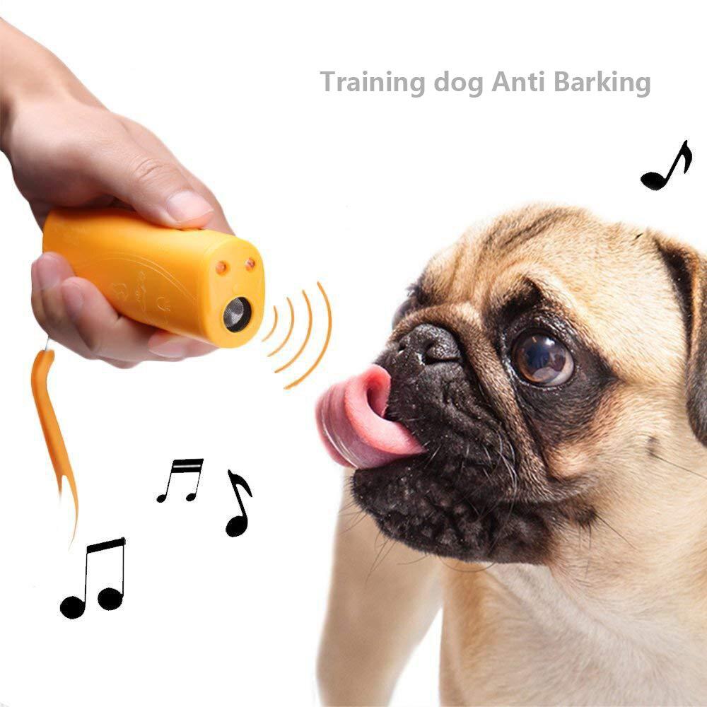 1pc font b Pet b font Dog Repeller Anti Barking Stop Bark Training Device Trainer LED