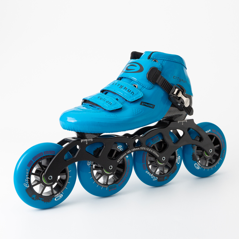 carbono bota patins patines corrida patinação profissional