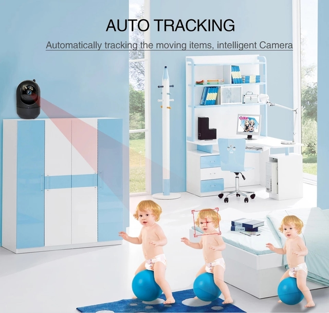 Motion Detection w/ Night Vision Baby Monitor 6