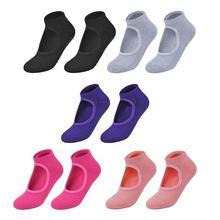 Лидер продаж, спортивные носки нежного дизайна, про дышащий противоскользящий, носки для йоги, женские спортивные Пилатес фитнес спортзал, хлопковые носки