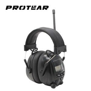 Image 1 - Protear NRR 25dB אלקטרוני שמיעת מגן AM FM רדיו מחממי אוזני הגנת אוזן אלקטרונית אלקטרוני Earmuff