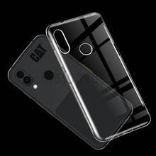 Para gato s62 pro caso 360 proteção de silicone macio fosco capa para gato s62 pro tpu macio caso para gato s62 pro