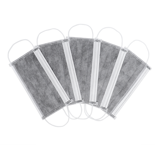 Disposable Mouth Mask Black/Pink/Blue/White Mouth Face Masks Non-Woven Disposable Mask In Stock 5