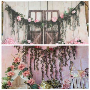 Image 3 - Yeele Newborn Baby Wood Floral Birthday Decor Children Water Wave Photography Background Photographic Backdrops For Photo Studio