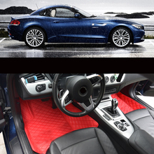 цена на Lsrtw2017 for bmw z4 e89 g29 Leather Car floor mat rug carpet 2009 2010 2011 2012 2013 2014 2015 2016 2017 2018 2019 accessoires