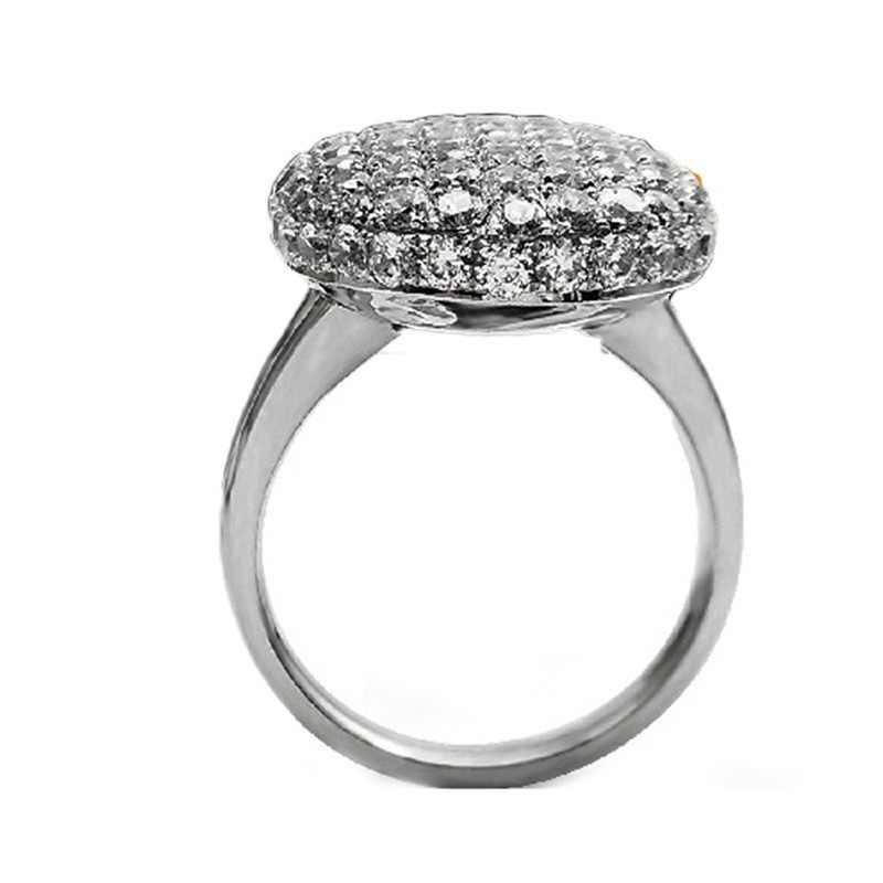 Offre spéciale élégant 925 argent anneaux pour femmes bijoux Vampire crépuscule Bella AAAAA Zircon fiançailles fête de mariage Cosplay anneau