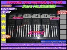 Aoweziic 2018 + 100% Nuovo Originale Importato BTA24 BTA24 800BRG BTA24 800B BTA24 800CWRG BTA24 800C To 220 Transistor 800V 24A