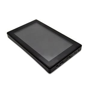 Image 4 - Raspberry Pi 4, modelo B/ 3B +/ 3B, pantalla de 7 pulgadas con caja de pantalla LCD, 7 pantallas de Monitor, pantalla táctil capacitiva IPS de 1024x600