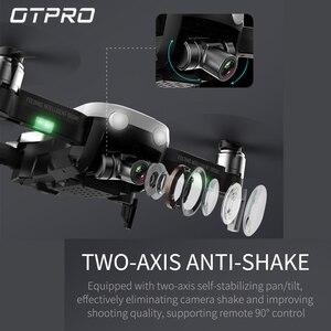 Image 3 - 4K мини Дроны с камерой Квадрокоптер Профессиональный GPS Дрон FPV Радиоуправляемый Дрон Складные Игрушки с дистанционным управлением подарок