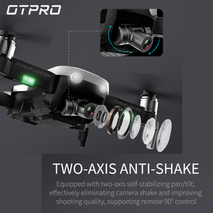 Image 3 - Mini Drone avec caméra 4K, Mini Drone quadrirotor professionnel GPS FPV RC, pliable, télécommande, jouets, cadeau