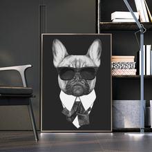 Скандинавские собаки в костюме холст настенные картины художественные