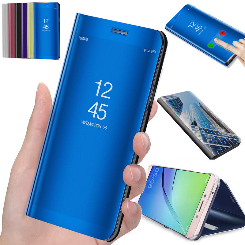 Clear View Smart <font><b>Mirror</b></font> <font><b>Flip</b></font> <font><b>Phone</b></font> <font><b>Case</b></font> For <font><b>sony</b></font> <font><b>xperia</b></font> <font><b>XZ3</b></font> XZ4 <font><b>Mirror</b></font> leather <font><b>Stand</b></font> Cover For <font><b>sony</b></font> <font><b>xperia</b></font> XZ 3 XZ 4 Full <font><b>Case</b></font> image