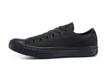 Converse all star men #8217 s and women #8217 s sneakers for men women canvas shoes all black low classic Skateboarding Shoes cheap Unisex Rubber Lace-Up Fits larger than usual Please check this store s sizing info Others 101001 Classics FINALE EVO Thread