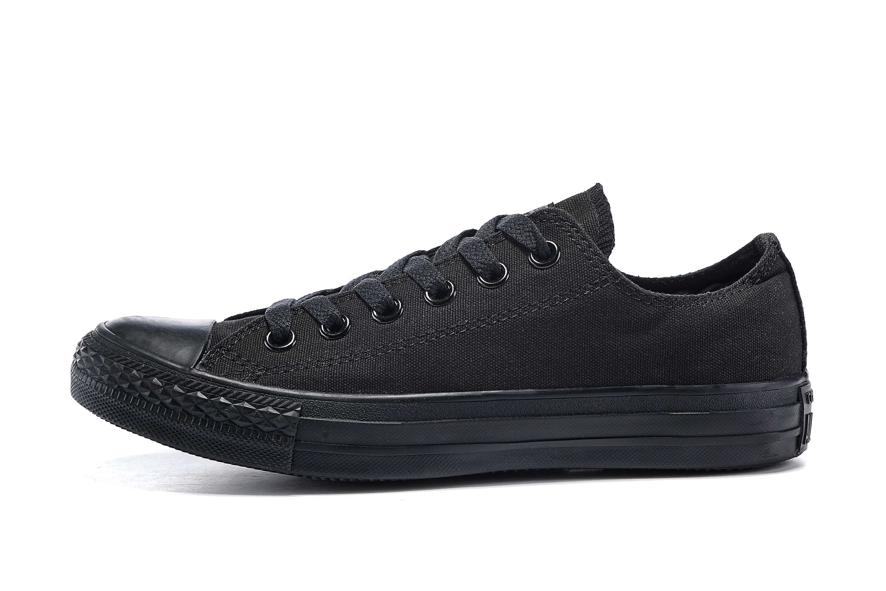 Converse All Star Men's And Women's Sneakers For Men Women Canvas Shoes All Black Low Classic Skateboarding Shoes