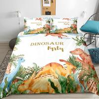 EHOMEBUY2019 New Cartoon Dinosaur Series Printed Bed Set Modern Duvet Cover Set Fashion Bed Kit Home/Hotel 12 Sizes Bedding Set