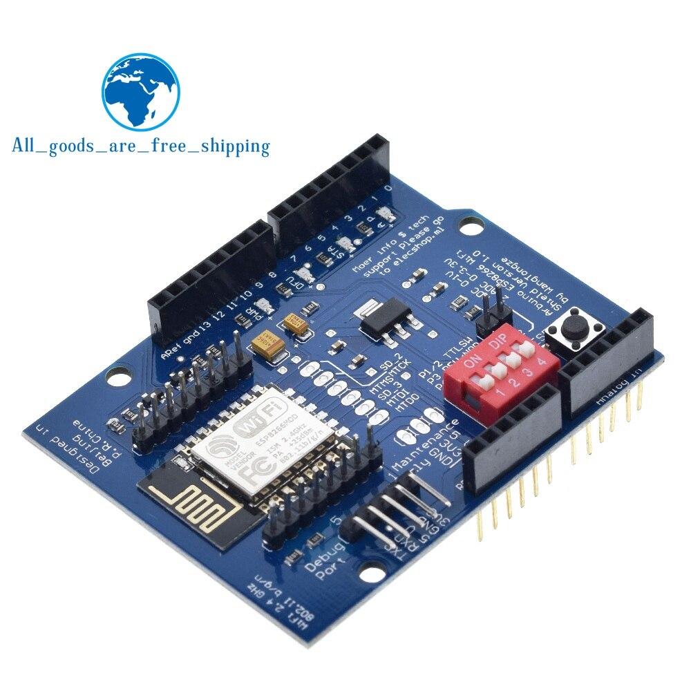 Arduino UNO R3 Wifi Network Development Board ESP8266 ESP-12E Module Components