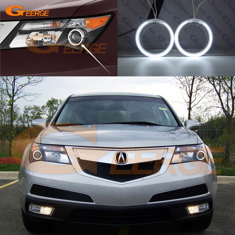 Excellent Ultra Bright Illumination CCFL Angel Eyes Kit Halo Ring For Acura MDX 2007 2008 2009 2010 2011 2012 2013
