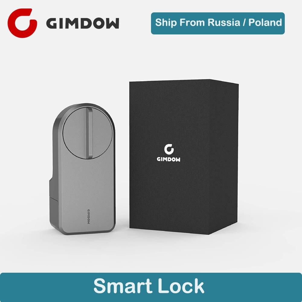 Nova Chegada GIMDOW App APP WI-FI Inteligente de Controle Remoto Fechadura Da Porta De Segurança Eletrônica Código Teclado Deadbolt Fechadura Digital Para Casa