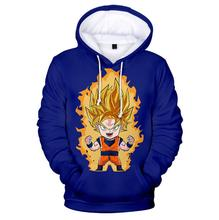 Dragon Ball Ultra Instinct Super Saiyan T-shirt Men Summer Dragon Ball Z t shirts Funny Anime Stranger Things Goku 3d t shirt цена