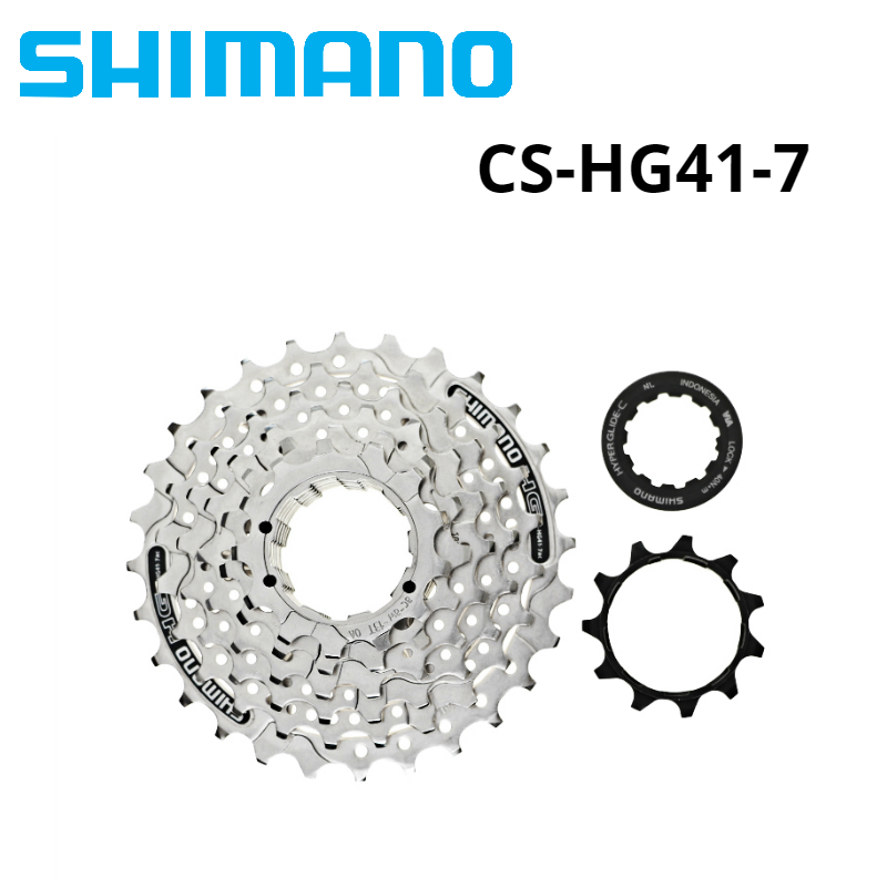 Shimano Tourney CS-HG41 Bike Cassette 7 Speed 11-28T