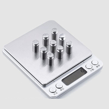 Mini Portable Jewelry Scale LCD Electronic Pocket Digital Gold Sliver Diamond Weighing Weight Sacles 0.01g Precision image