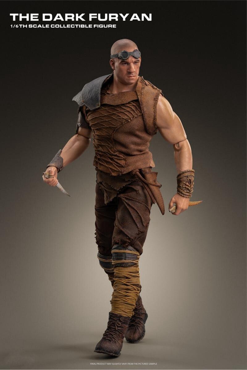 masculina boneca pitch preto richard b. Riddick