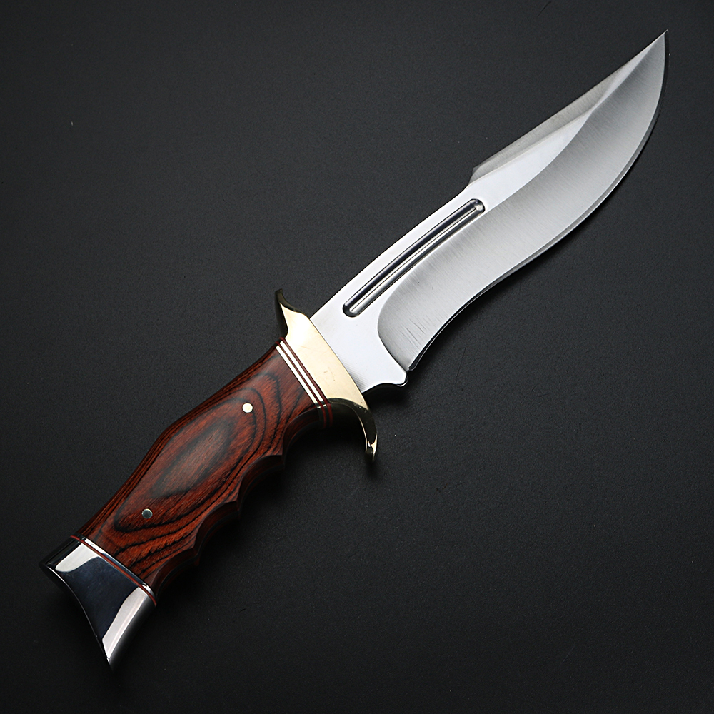 Short Outdoor Self Fixed Hunting Defense Blade Knife Knife Knife Knife Military Camping High Quality