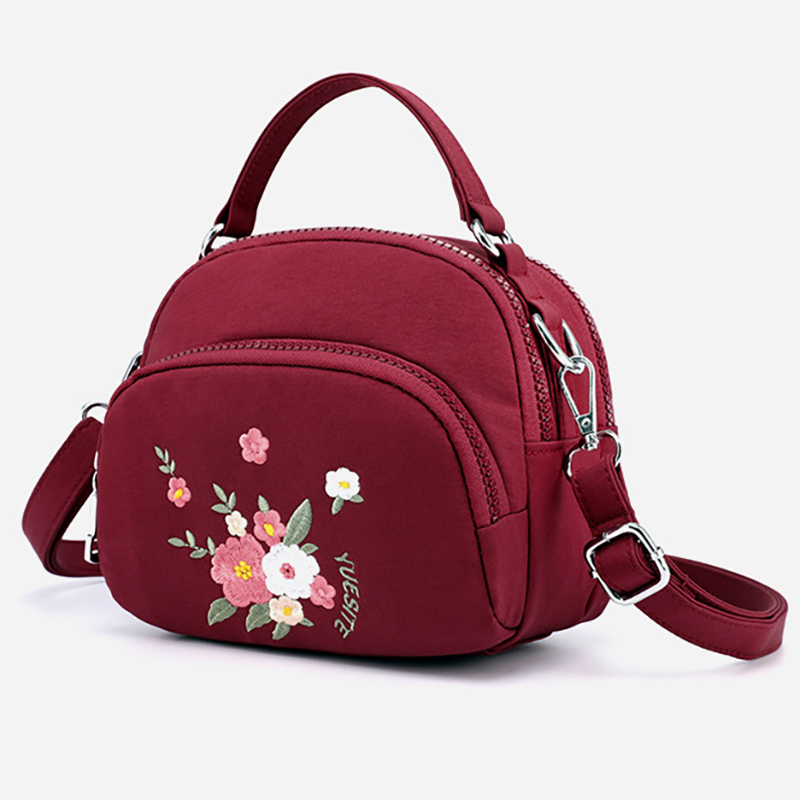Newborn Baby Nappy Bag Maternity Bags Embroidery Style Diaper Tote Mummy Backpack Nursing Printing BXY091