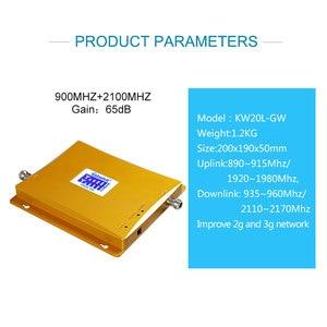 Image 3 - lintratek 3G gsm900 Repeater GSM WCDMA 2100 Cellphone Signal Amplifier Booster 2g 3g Cellular Voice Internet 2100 Amplifier S55