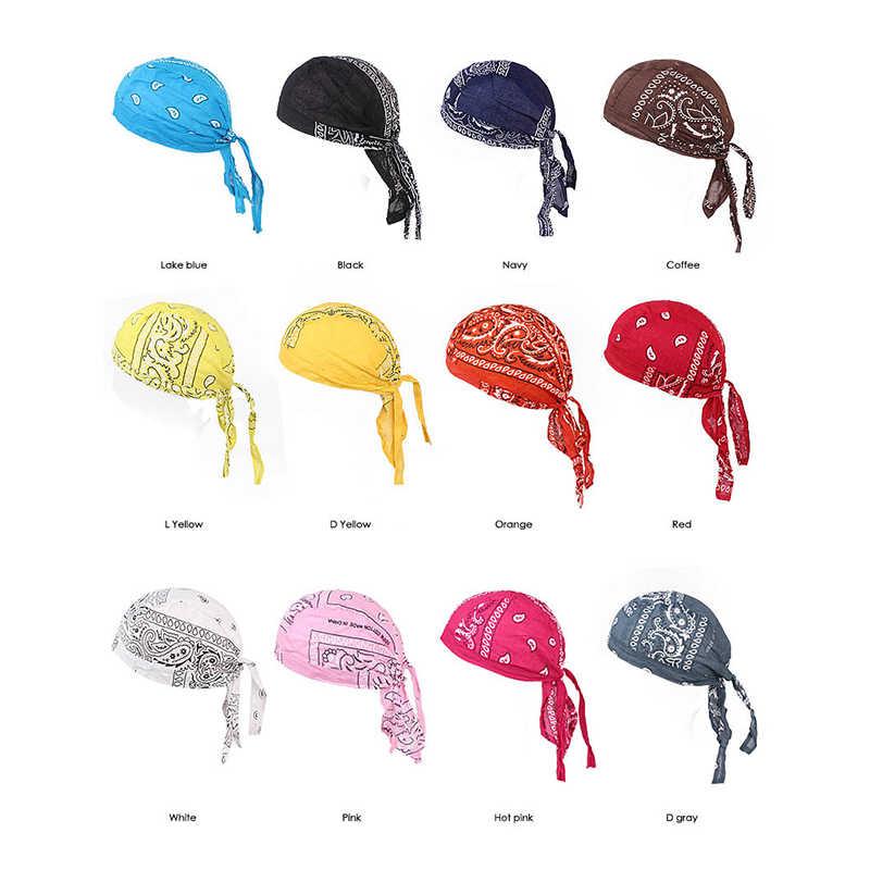 1PC di Modo Floreale Foulard Delle Donne di Donne Musulmane India Perline Musulmano Stretch Turbante Del Cappello Del Cotone Coda di Capelli Testa Dell'involucro Della Sciarpa