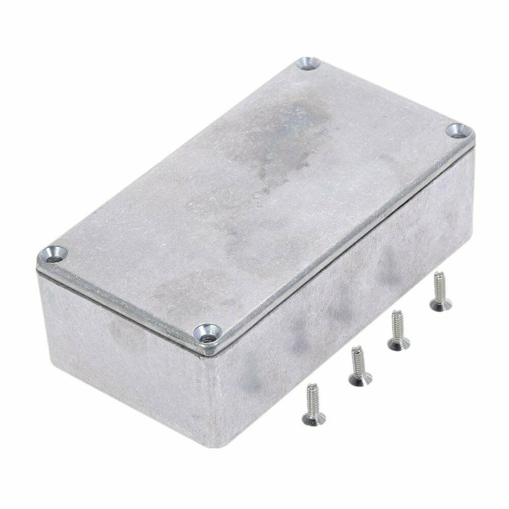 125B Style Effects Pedal Aluminum Stomp Box Enclosure 122*66*39.5mm for Guitar Instrument|Connectors| |  - title=